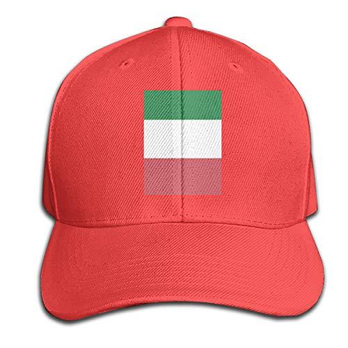Osmykqe Italian Flag Unisex Sommer Sonnenhut einstellbar lässig Golf Tennis Caps