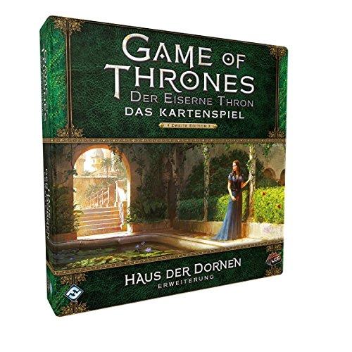 Haus Der Karten Das (Fantasy Flight Games FFGD2374 Got: Lcg 2.Ed. - Haus Der Dornen)