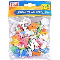 MP PM150 - Blíster de letras del abecedario de goma eva adhesivas