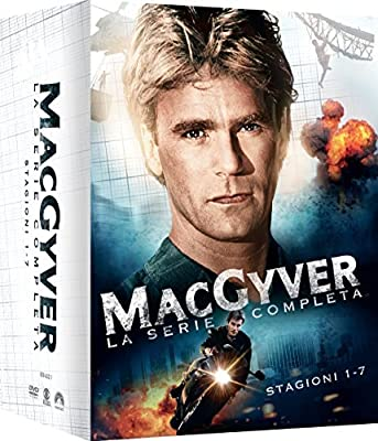 Macgyver - Stagione 01-07 [38 DVDs] [IT Import]