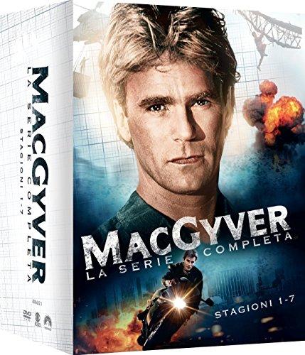 MacGyver: Stagione 1-7 (Cofanetto 38 DVD) [Italia]