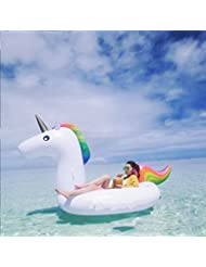 Giant PVC gonflable Pegasus Pool Float, Swim Rings Floating Row Large Outdoor Swimming Pool Toy pour adultes et enfants