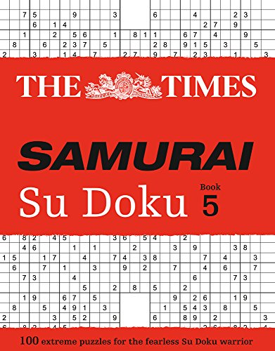 The Times Samurai Su Doku 5 (Times Mind Games)