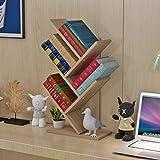 MEILING Auf dem Tisch Baum Form Kleine Bücherregal Kind Einfache Regal Student Desktop Bücherregal Office Storage Rack Storage Rack ( Farbe : 1 )