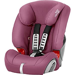 Britax Römer EVOLVA 1-2-3 Group 1-2-3 (9-36kg) Car Seat - Wine Rose   8