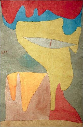 Forex-Platte 80 x 120 cm: Fräulein von Paul Klee / akg-images Fräulein Klee