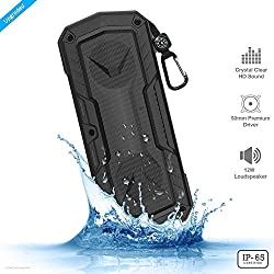 ZAAP (USA) Hydra Xtreme Premium waterproof/ Shockproof Bluetooth Wireless speaker With Built-In Microphone,Black