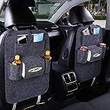 Eipek - Organizer per Sedile Posteriore Auto, Impermeabile, con Tasche per Proteggere Il Retro del Sedile, Tappetino da Viaggio