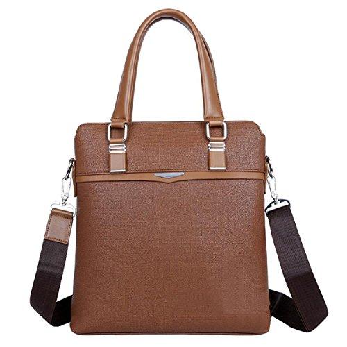 Männer Handtasche Horizontale Business Pack Computer Tasche Casual Tasche Aktenkoffer Brown4