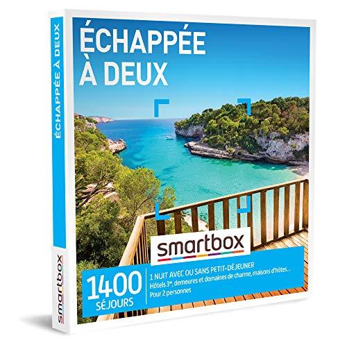 SMARTBOX - Coffret Cadeau Noël Couple - Idée cadeau original : Séjour romantique...