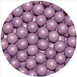 EinsSein 0,35kg Crispy Perline di cioccolato grande lilla perla matrimonio confettata confetto battesimo comunione cresima nascita confettis alla laurea decorazioni bimba bomboniere confetto senza
