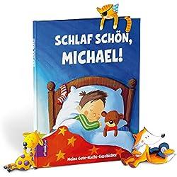 Meine Gute-Nacht-Geschichte – Buch zum Selbstgestalten! Personalisiertes Kinderbuch mit Gute-Nacht-Geschichte ab 3 Jahren – personalisiertes Geschenk für jeden Anlass. Personalisiertes Geschenk für Babys. Personalisierte Geschenke.
