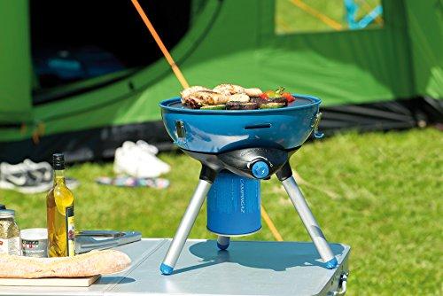 Campingaz Party Grill 400 CV für den Betrieb mit einer Ventilgaskartusche CV300+ oder CV470+ (Piezozündung) -