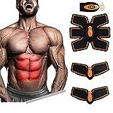 [nouvelle version 2017] Professionnel abdominal muscle tonification ceinture de fitness à domicile Training Gear, coussinets de vibration pour les hommes et les femmes à tonifier, perte de poids, taille-bordure, mince, forte