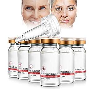 Hialurónico de suero antienvejecimiento La mejor esencia de crema agria antiedad para la piel, la cara, el escote y el…