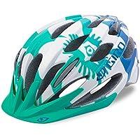 Giro Raze Fahrradhelm - turquoise teal flowers