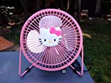 Best HELLO KITTY Fans - Hello Kitty Pink Usb Mini Fan 6 Inches Review