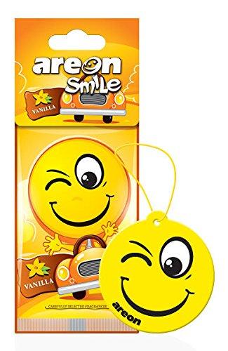 Areon Smile design appeso auto deodorante alla vaniglia (confezione da 5)