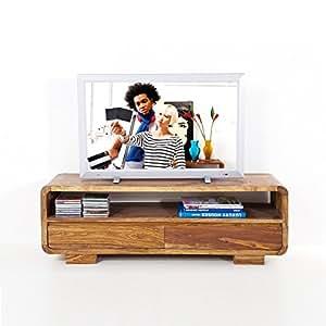 Design massivholz tv tisch authentico fernsehtisch for Tisch koffer design