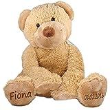 Spieluhr Teddy Bär Geschenk mit Namen und Geburtsdatum personalisiert 19cm