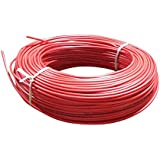 KC Cab 1.5 sq mm wire 90 meter coil (Red)