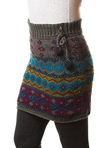 Everest Designs Jupe de Innsbruck pour femme, femme, gris,