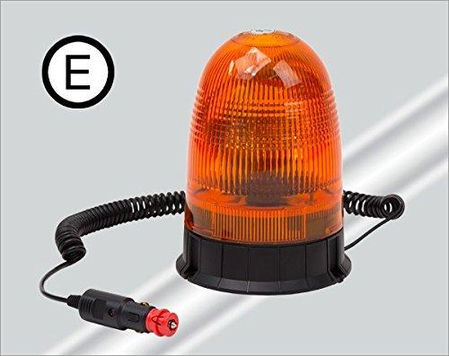 Rundumleuchte - Gelbleuchte - Warnleuchte - gelb 12V mit Magnetfuß