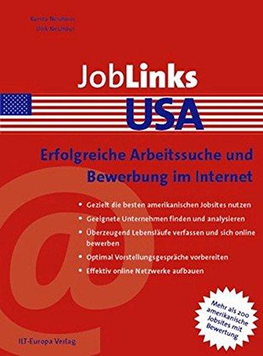 JobLinks USA: Erfolgreiche Arbeitssuche und Bewerbung im Internet
