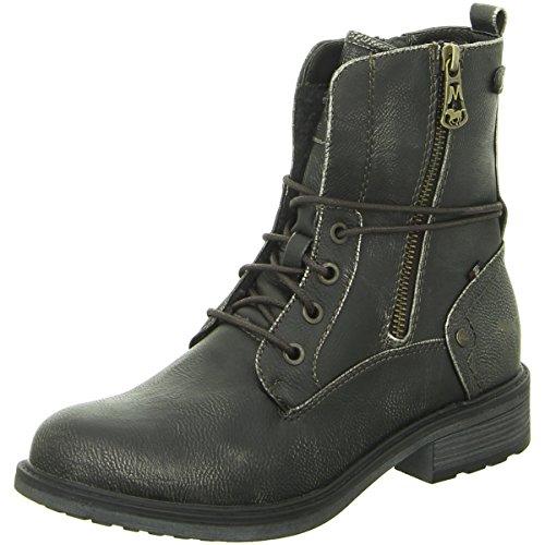 MUSTANG - Damen Boots - Dunkelgrau Schuhe in Übergrößen, Größe:44