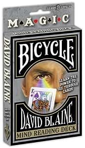 Jeu de cartes marqué Bicycle David Blaine