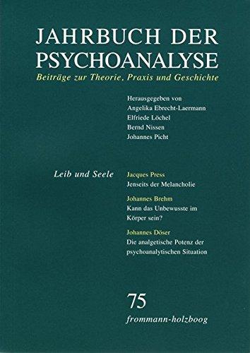 Jahrbuch der Psychoanalyse / Band 75: Leib und Seele (Der Angst-index)