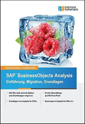 SAP BusinessObjects Analysis - Einführung, Migration, Grundlagen
