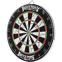 BOYZ TOYZ RY411 - Cible avec 6 Fléchettes de compétition - 42x42cm