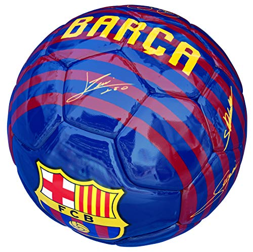 FCB Balon FC Barcelona Primera Equipacion 18 19 Azul