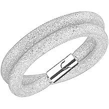 Swarovski Damen-Armband Edelstahl Glas transparent 40 cm - 5159279