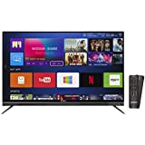 Shinco 124 cm (49 inch) 4K UHD Quantum Luminit LED Smart TV with HDR 10 S50QHDR10 (Black) (2018 Model)
