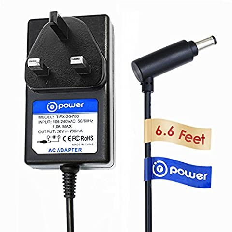 T-power (2m) adaptateur pour Dyson V7V8Absolute/Motorhead/animal discuter Aspirateur Power Charger Supply