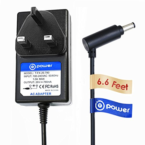 T-Power ( 6.6 ft ) Adapter for Dyson V7 V8 Absolute / Motorhead / Animal Cord-Free Vacuum Cleaner Power Charger Supply