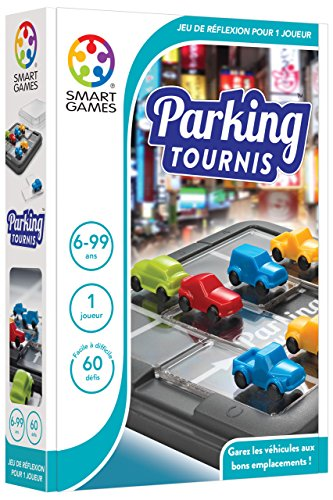 Smart Games Parking Tournis Child Niño/niña - Juegos educativos, Child, Niño/niña, 6 año(s), 60 Pieza(s), 170 mm