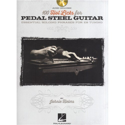 "Hal Leonard Notenheft ""100 Hot Licks For Pedal Steel Guitar\"", mit, CD, Pedal-Steel-Gitarre [evtl nicht in deutscher Sprache]"