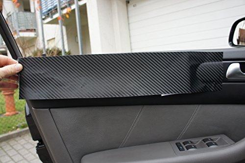 3er E46 Carbonfolie ORIGINAL 3D CARBON ZIERLEISTEN SET, 15 teiliges Folienset aus 3D Carbon Schwarz Folie, für den Innenraum Ihres Fahrzeug siehe Fahrzeugliste