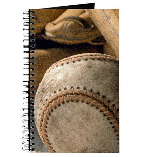 CafePress-Baseball-Spiralbindung Journal Notizbuch, persönliches Tagebuch, liniert