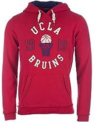 Sweat � capuche UCLA Grovener pour homme en rouge