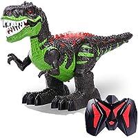 Ydq Modelo De Dinosaurio, Realista Caminando Rex Dinosaurio Juguete Figura Dinosaurio Jurásico Mundo Simulación Genial Dinosaurio Rugido Sonido Movimiento Real