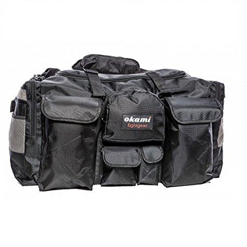 Okami Fightgear Martial Arts Training Bag 2.0 - Große Sporttasche Trainingstasche Gym Tasche für Kampfsport Fitness Boxen Muay Thai Multifunktionsfächer -