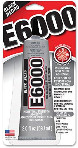 E-6000 Multi-Purpose Adhesive-Black60mls