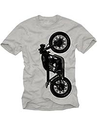 Tee Shirt Moto Homme - Vintage CB 550 Cafe Racer - Cadeaux Homme