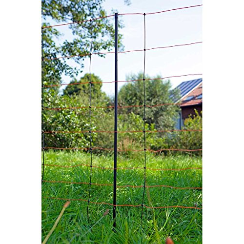 *EIDER TITAN Schafnetz in 108cm 2 Spitz 50 m lang – Agilitynetz in Top Qualität – Auch für große Hunde als Agilitynetz – Standfest durch 2 Spitzen*