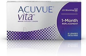 Acuvue Kontaktlinsen Vita Monatslinsen weich, 6 Stück / BC 8.4 mm / DIA 14.0 mm / -0.75 Dioptrien
