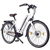 """NCM Milano Max N8C Bicicletta elettrica da Trekking, Bicicletta da Città, 250W Motore Centrale e Freno a contropedale, Batteria 36V 16Ah 576Wh, 28"""""""